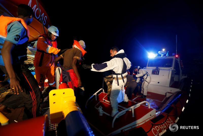 The Wider Image: Rescue in the Mediterranean Sea